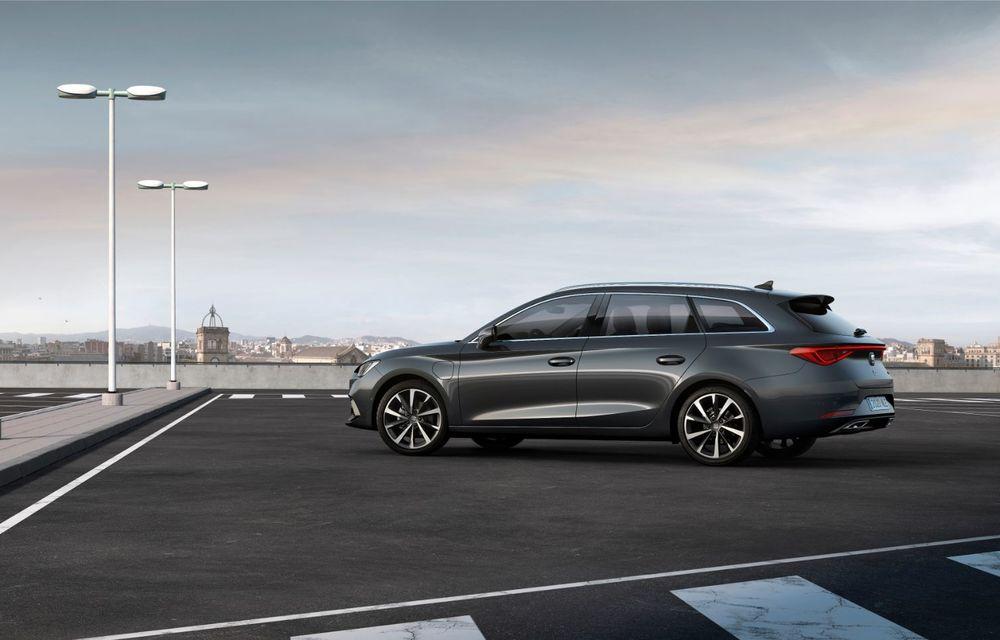 Seat Leon ajunge la a patra generație: motorizări mild-hybrid și plug-in hybrid și pachet tehnologic de top - Poza 13