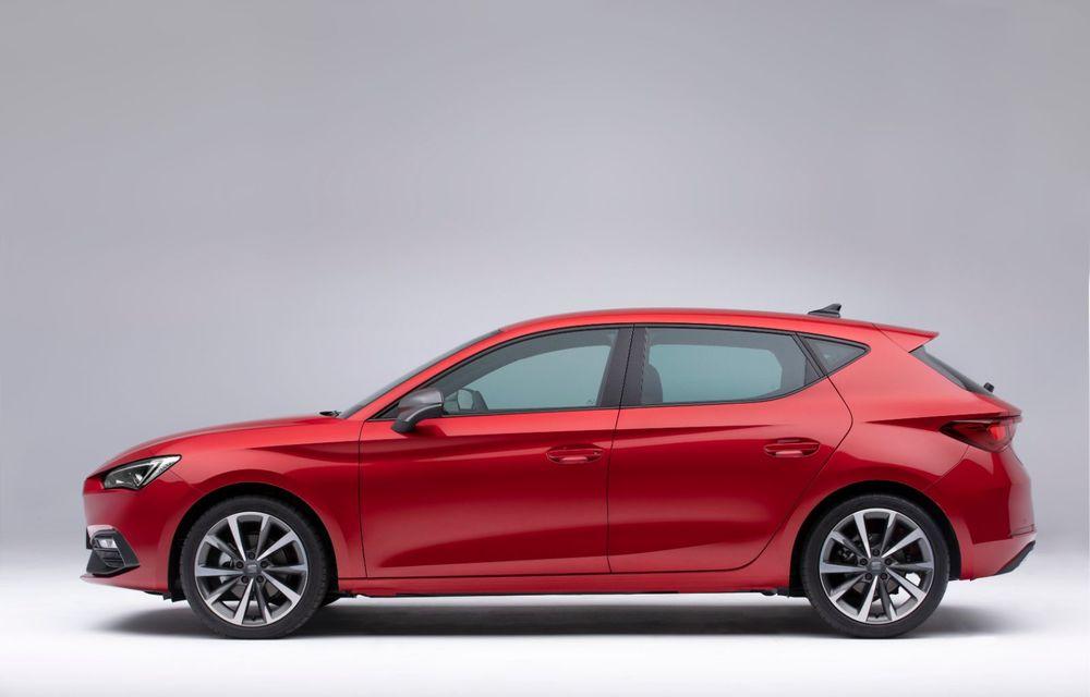 Seat Leon ajunge la a patra generație: motorizări mild-hybrid și plug-in hybrid și pachet tehnologic de top - Poza 3