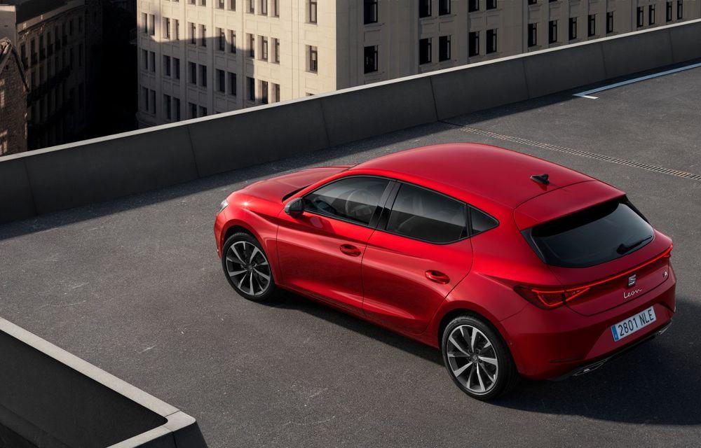 Seat Leon ajunge la a patra generație: motorizări mild-hybrid și plug-in hybrid și pachet tehnologic de top - Poza 8