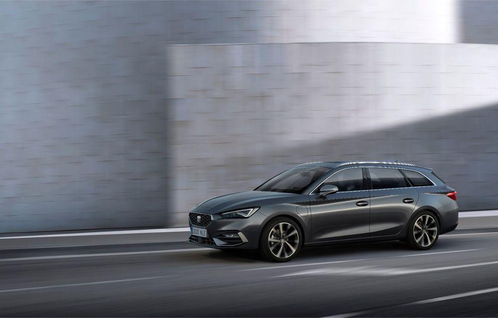 Seat Leon ajunge la a patra generație: motorizări mild-hybrid și plug-in hybrid și pachet tehnologic de top - Poza 11