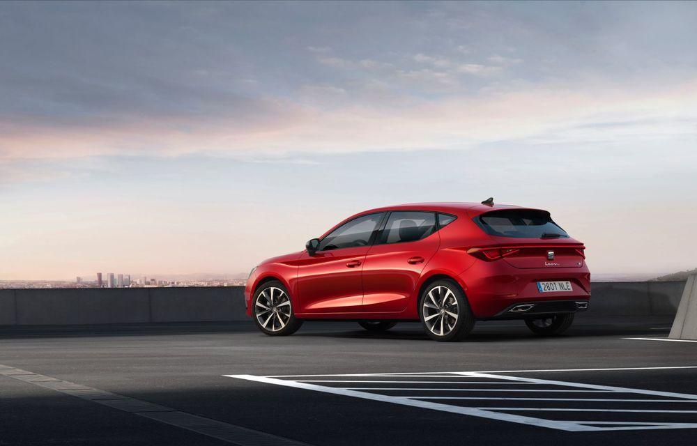 Seat Leon ajunge la a patra generație: motorizări mild-hybrid și plug-in hybrid și pachet tehnologic de top - Poza 7