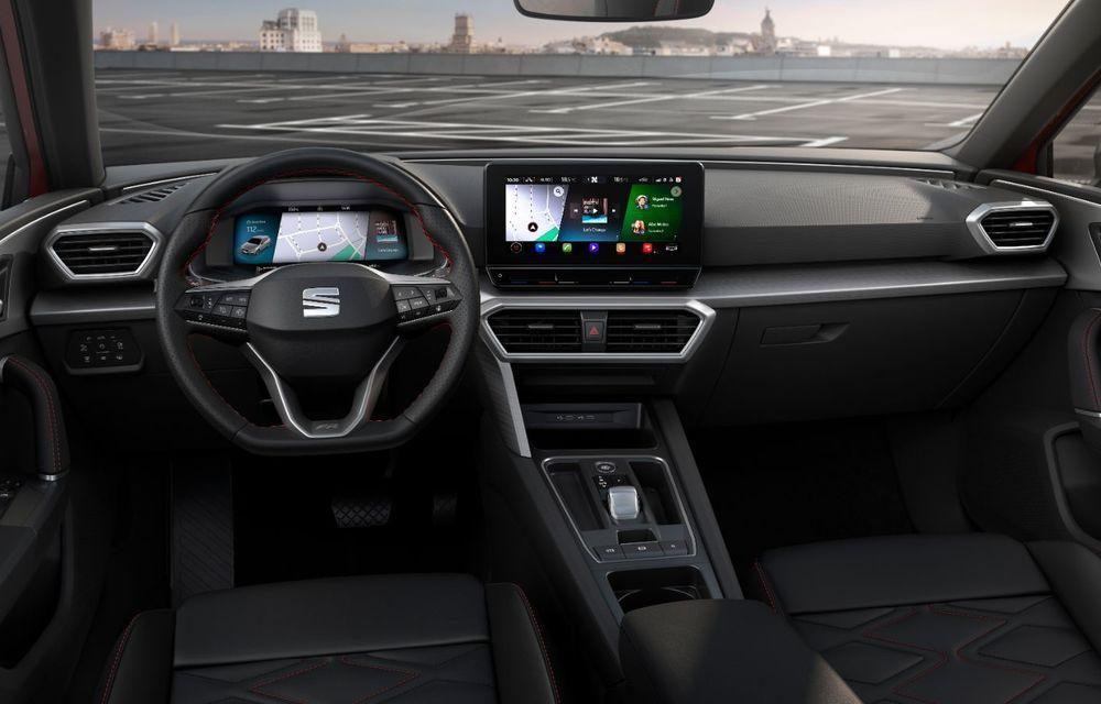 Seat Leon ajunge la a patra generație: motorizări mild-hybrid și plug-in hybrid și pachet tehnologic de top - Poza 10