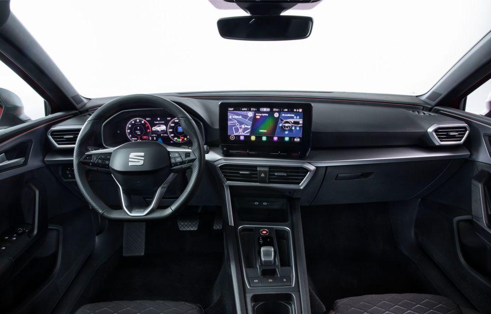 Seat Leon ajunge la a patra generație: motorizări mild-hybrid și plug-in hybrid și pachet tehnologic de top - Poza 9