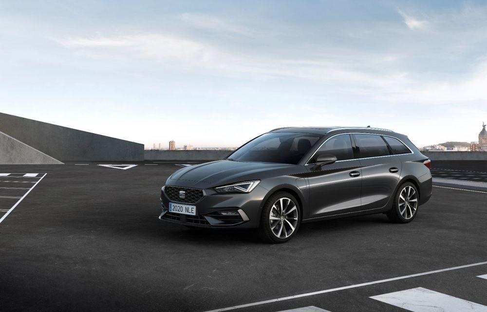 Seat Leon ajunge la a patra generație: motorizări mild-hybrid și plug-in hybrid și pachet tehnologic de top - Poza 12