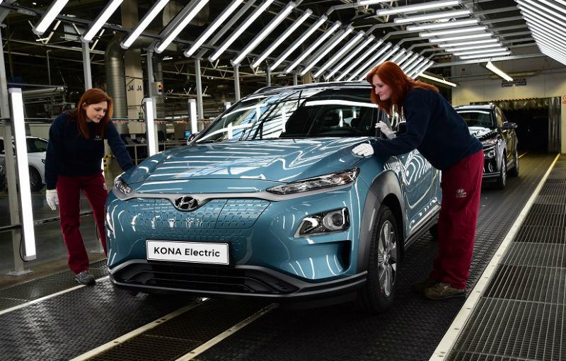 Hyundai vrea să devină lider european la producția de mașini electrice în 2020: Kona EV va intra în producție în Cehia, începând din martie - Poza 1