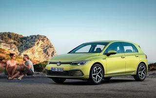 Prețuri Volkswagen Golf 8 în România: hatchback-ul compact pleacă de la 19.000 de euro