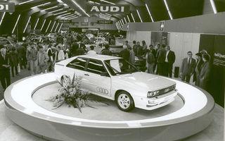 Audi aniversează 40 de ani de la introducerea sistemului quattro: nemții au pregătit peste 20 de programe speciale pentru a marca acest moment