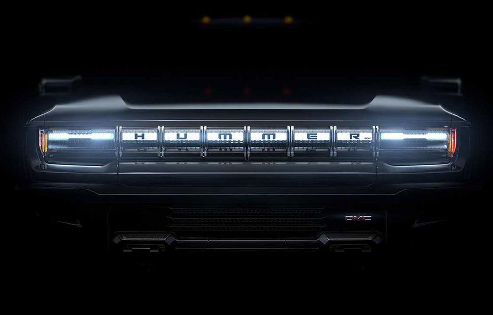 Hummer revine sub o nouă formă: americanii vor folosi denumirea pentru un viitor pick-up electric cu 1.000 CP produs sub brandul GMC - Poza 1