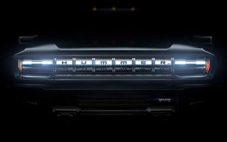 Hummer revine sub o nouă formă: americanii vor folosi denumirea pentru un viitor pick-up electric cu 1.000 CP produs sub brandul GMC