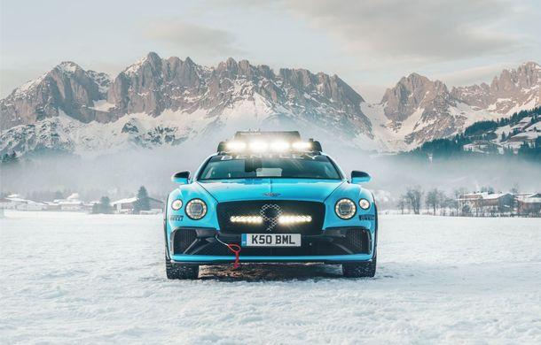 Bentley Continental GT Ice Race: versiunea unicat are roll cage și o gardă la sol mai mare - Poza 4