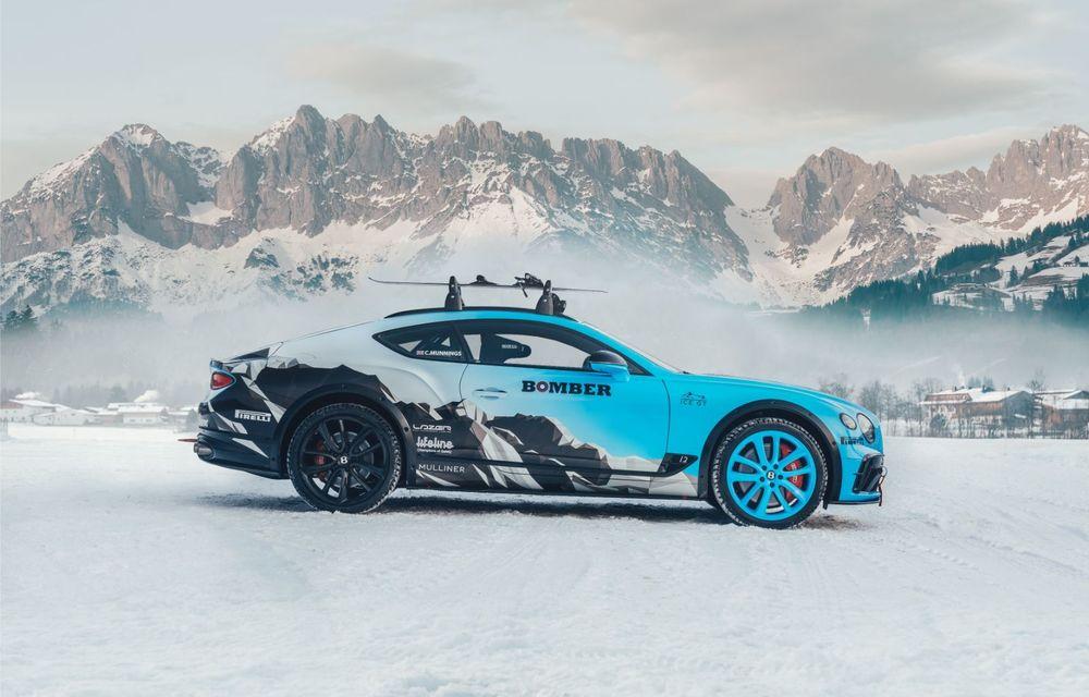 Bentley Continental GT Ice Race: versiunea unicat are roll cage și o gardă la sol mai mare - Poza 3