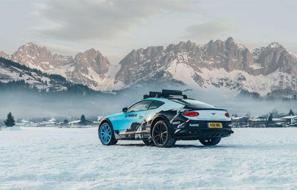 Bentley Continental GT Ice Race: versiunea unicat are roll cage și o gardă la sol mai mare - Poza 2