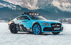 Bentley Continental GT Ice Race: versiunea unicat are roll cage și o gardă la sol mai mare