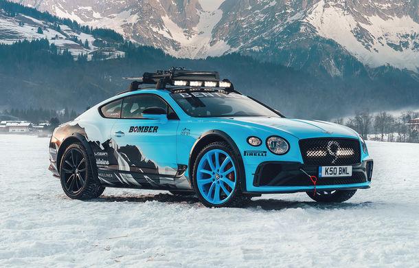 Bentley Continental GT Ice Race: versiunea unicat are roll cage și o gardă la sol mai mare - Poza 1