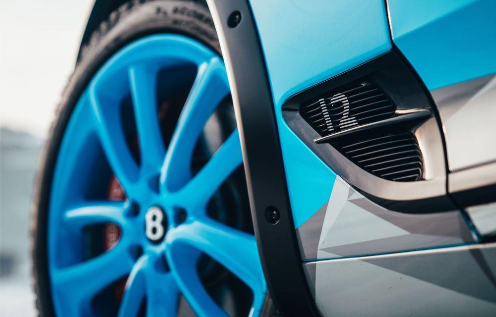 Bentley Continental GT Ice Race: versiunea unicat are roll cage și o gardă la sol mai mare - Poza 6