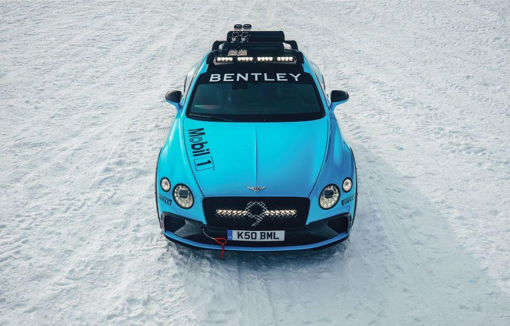 Bentley Continental GT Ice Race: versiunea unicat are roll cage și o gardă la sol mai mare - Poza 5