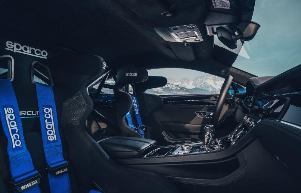Bentley Continental GT Ice Race: versiunea unicat are roll cage și o gardă la sol mai mare - Poza 9