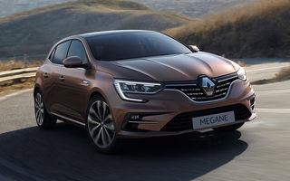 Imagini și informații tehnice despre Renault Megane facelift: modelul compact primește versiune plug-in hybrid de 160 de cai putere