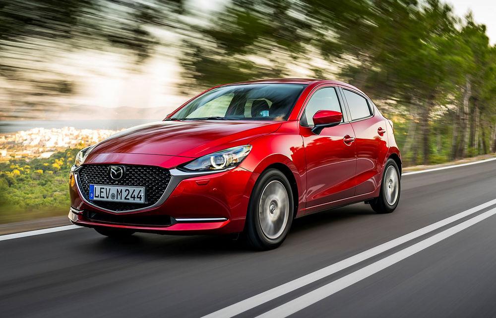 Prețuri pentru Mazda 2 facelift: modelul de segment B pornește de la 14.200 de euro - Poza 1