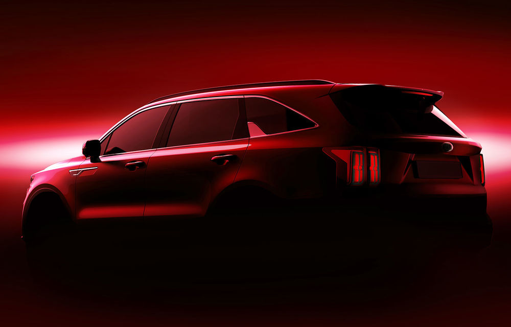 Kia a publicat primele imagini teaser cu viitoarea generație Sorento: SUV-ul producătorului asiatic va avea o platformă nouă și va fi prezentat la Geneva - Poza 2
