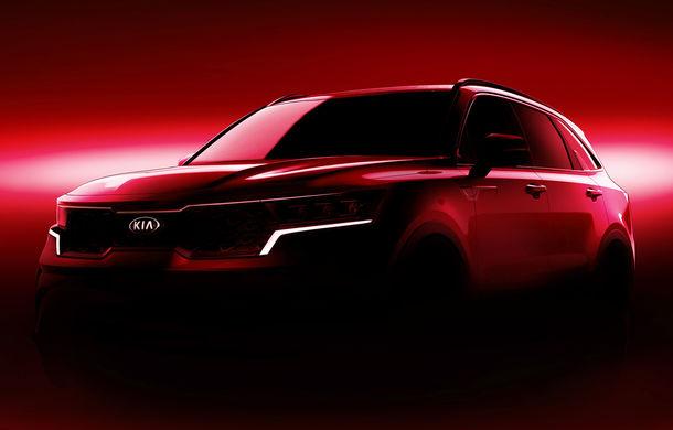 Kia a publicat primele imagini teaser cu viitoarea generație Sorento: SUV-ul producătorului asiatic va avea o platformă nouă și va fi prezentat la Geneva - Poza 1