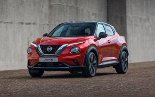 Prețuri pentru noua generație Nissan Juke: SUV-ul de segment B pornește de la 17.200 de euro