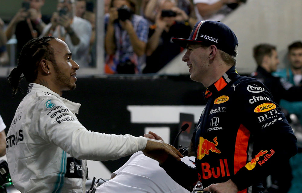 """Verstappen, încrezător că poate lupta pentru titlu în 2020: """"Hamilton este bun, dar nu este Dumnezeu"""" - Poza 1"""