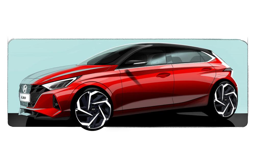 Primele teasere pentru noua generație Hyundai i20: design modern și două ecrane de 10.25 inch la interior - Poza 1