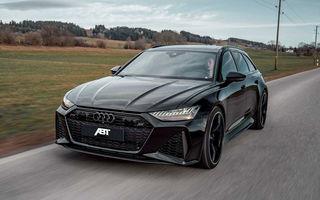 Îmbunătățiri pentru Audi RS6 Avant: motorul V8 oferă acum 700 CP mulțumită pachetului propus de ABT
