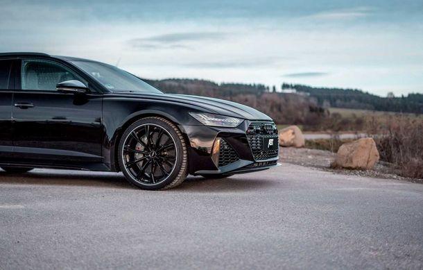 Îmbunătățiri pentru Audi RS6 Avant: motorul V8 oferă acum 700 CP mulțumită pachetului propus de ABT - Poza 5