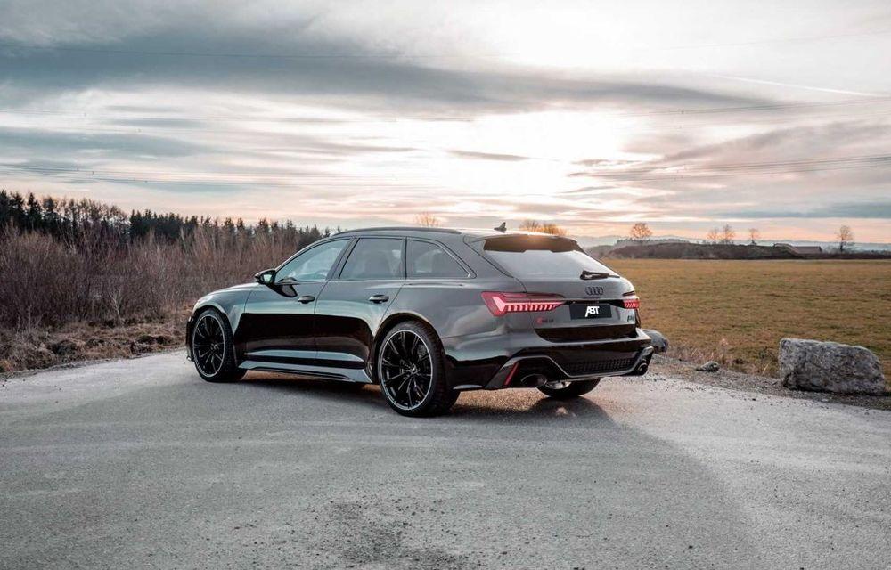 Îmbunătățiri pentru Audi RS6 Avant: motorul V8 oferă acum 700 CP mulțumită pachetului propus de ABT - Poza 3