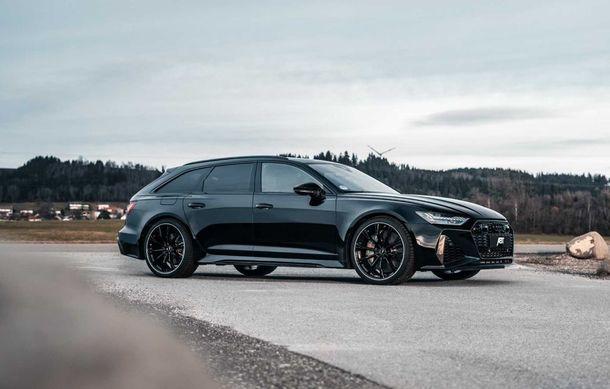 Îmbunătățiri pentru Audi RS6 Avant: motorul V8 oferă acum 700 CP mulțumită pachetului propus de ABT - Poza 2