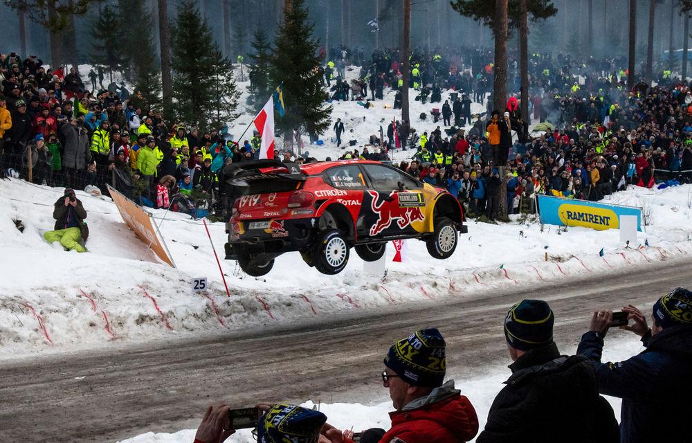 Schimbările climatice afectează Raliul Suediei: etapa de WRC va avea un traseu semnificativ mai scurt din cauza lipsei de zăpadă - Poza 1