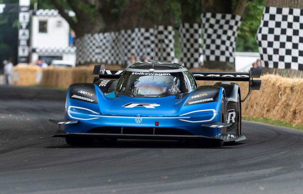 Volkswagen țintește un nou record: prototipul electric ID R va încerca să doboare timpul de referință stabilit de un monopost de Formula 1 pe Sonoma Raceway - Poza 1