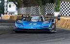 Volkswagen țintește un nou record: prototipul electric ID R va încerca să doboare timpul de referință stabilit de un monopost de Formula 1 pe Sonoma Raceway