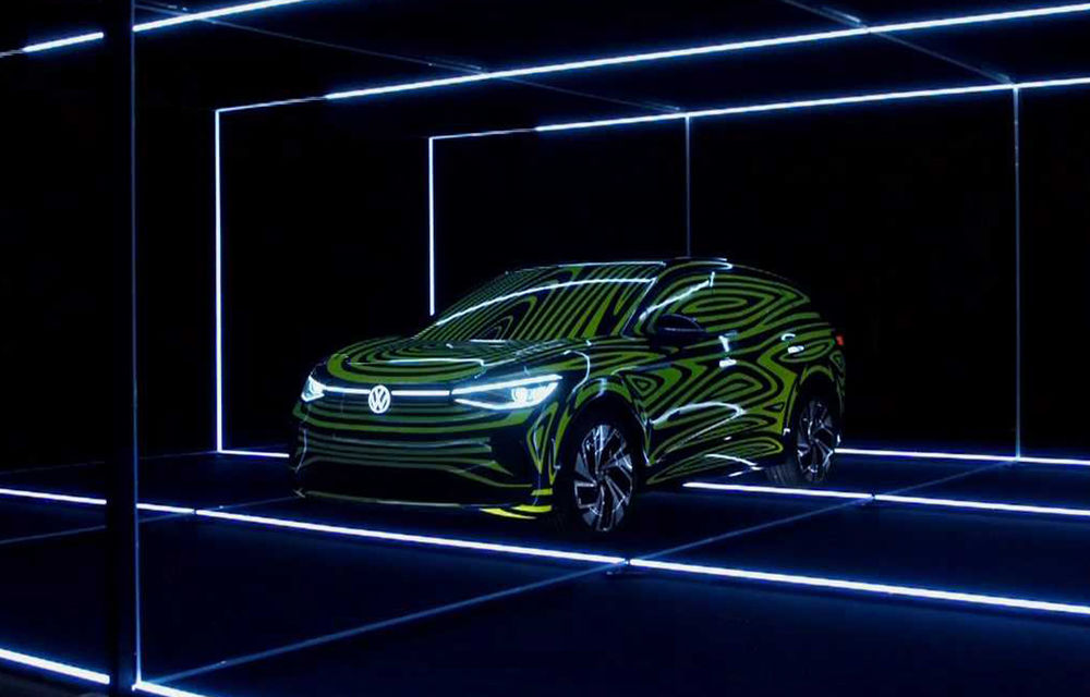 Prezentarea noului Volkswagen ID.4 ar putea fi amânată pentru luna iunie: SUV-ul electric, pregătit pentru Salonul Auto de la Detroit - Poza 1