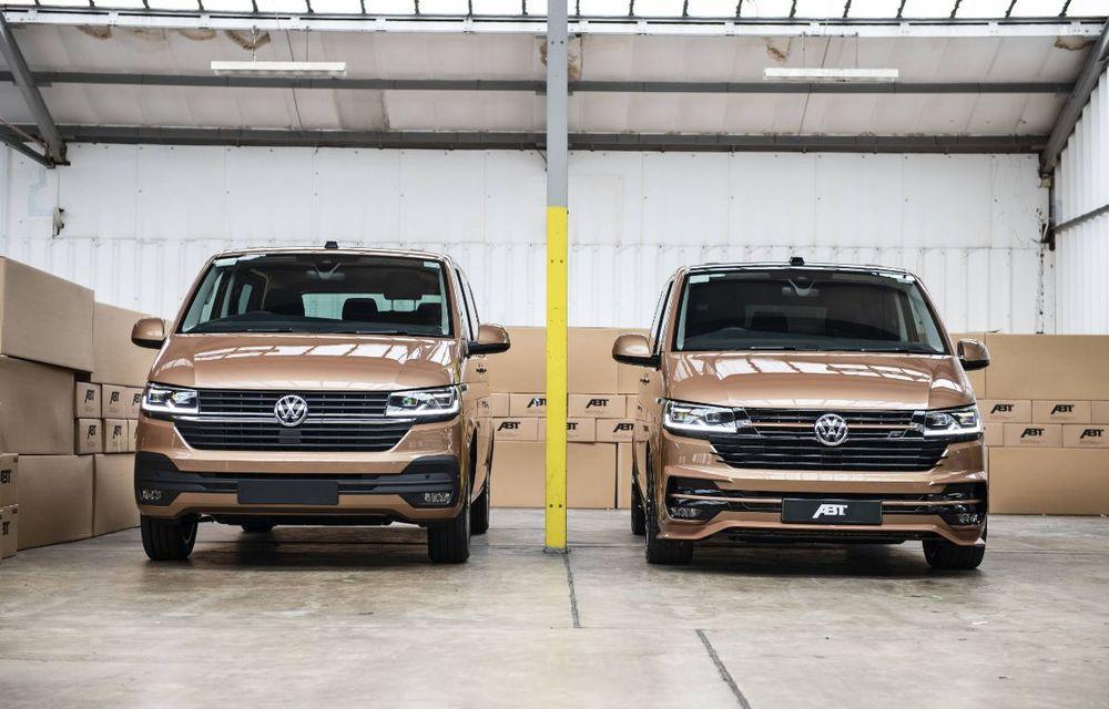 ABT lansează un kit complet pentru gama Volkswagen Transporter T6.1: pachet aerodinamic special și motorizări cu până la 226 CP - Poza 2