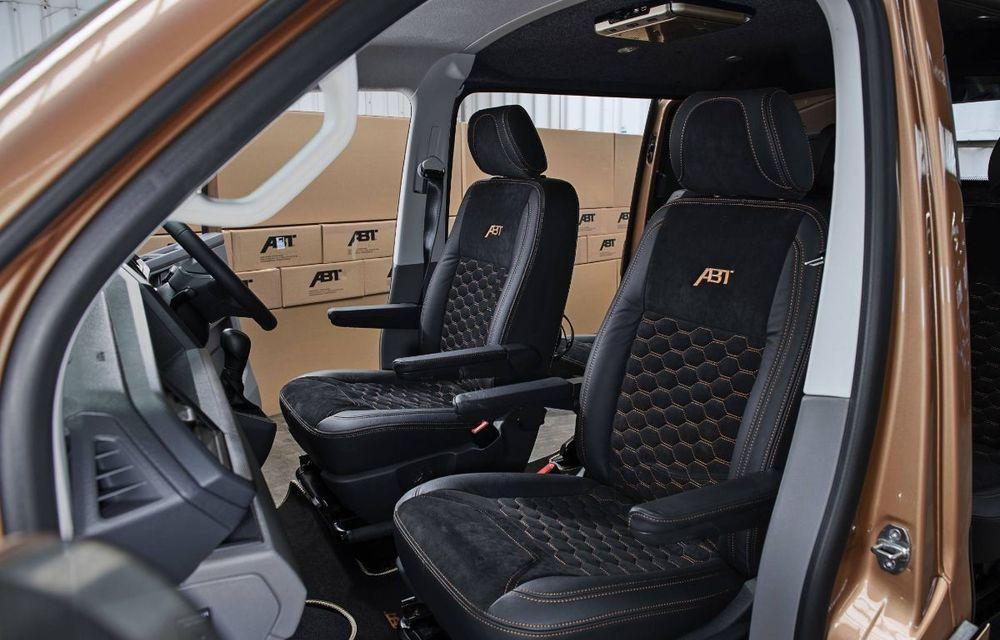 ABT lansează un kit complet pentru gama Volkswagen Transporter T6.1: pachet aerodinamic special și motorizări cu până la 226 CP - Poza 5