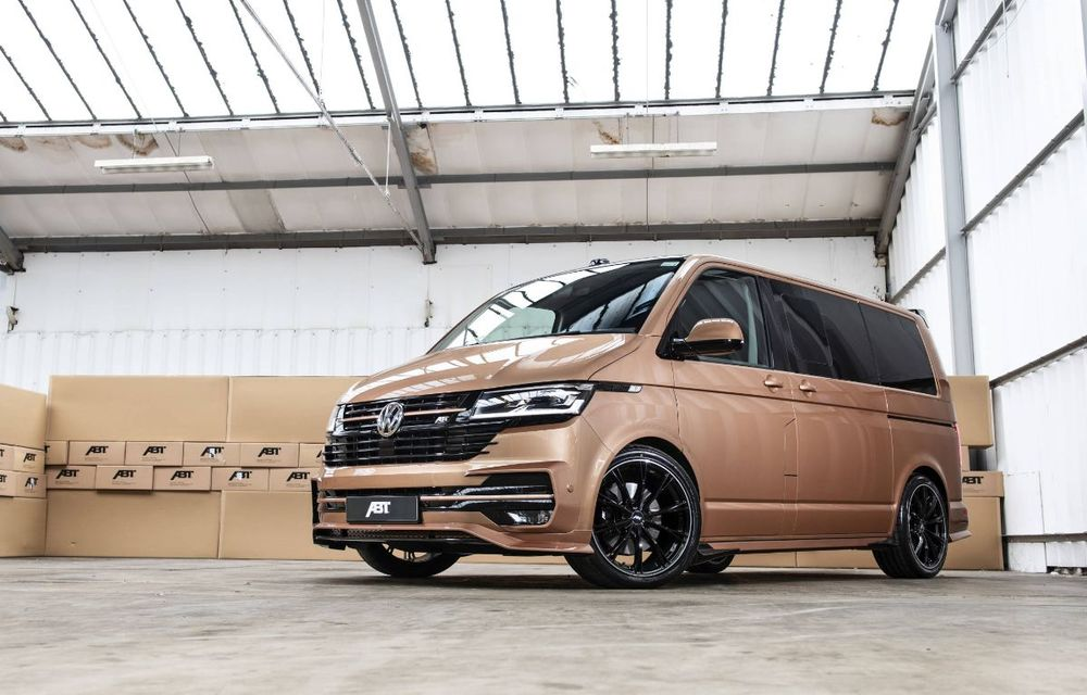 ABT lansează un kit complet pentru gama Volkswagen Transporter T6.1: pachet aerodinamic special și motorizări cu până la 226 CP - Poza 3