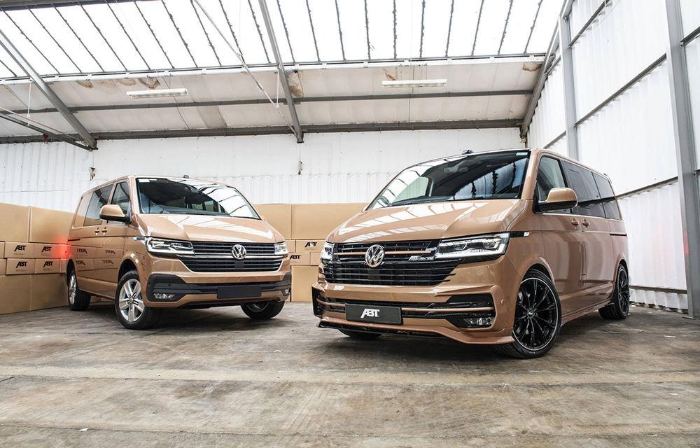 ABT lansează un kit complet pentru gama Volkswagen Transporter T6.1: pachet aerodinamic special și motorizări cu până la 226 CP - Poza 1