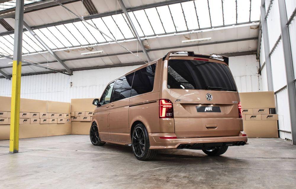 ABT lansează un kit complet pentru gama Volkswagen Transporter T6.1: pachet aerodinamic special și motorizări cu până la 226 CP - Poza 4
