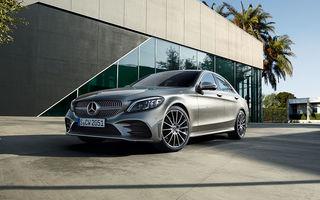 Video. Viitoarea generație Mercedes-Benz Clasa C, surprinsă la Nurburgring: modelul de clasă medie ar putea debuta în cadrul Salonului Auto de la Paris