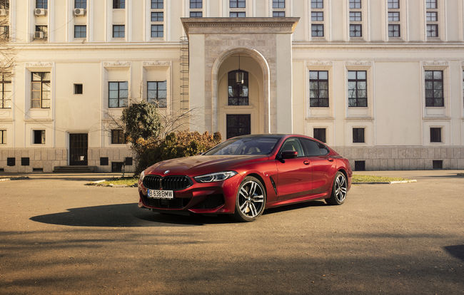 Test drive BMW Seria 8 Gran Coupe