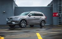 Test drive Volvo XC90 facelift