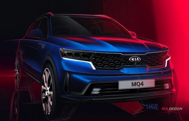 Schițe oficiale cu viitoarea generație Kia Sorento: asiaticii oferă detalii de exterior, dar și primele imagini cu interiorul noului SUV - Poza 3
