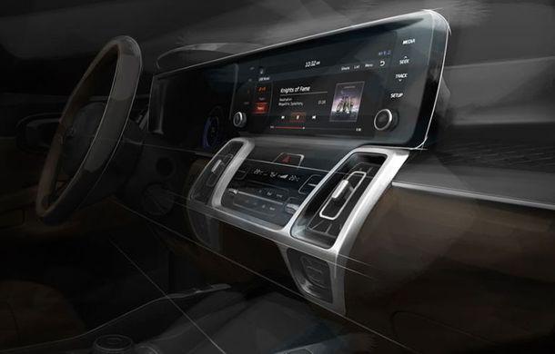 Schițe oficiale cu viitoarea generație Kia Sorento: asiaticii oferă detalii de exterior, dar și primele imagini cu interiorul noului SUV - Poza 6