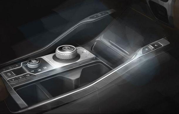 Schițe oficiale cu viitoarea generație Kia Sorento: asiaticii oferă detalii de exterior, dar și primele imagini cu interiorul noului SUV - Poza 7