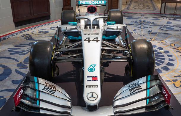 Mercedes a dezvăluit noile culori pentru sezonul 2020 al Formulei 1: monopostul va fi prezentat în 14 februarie - Poza 2
