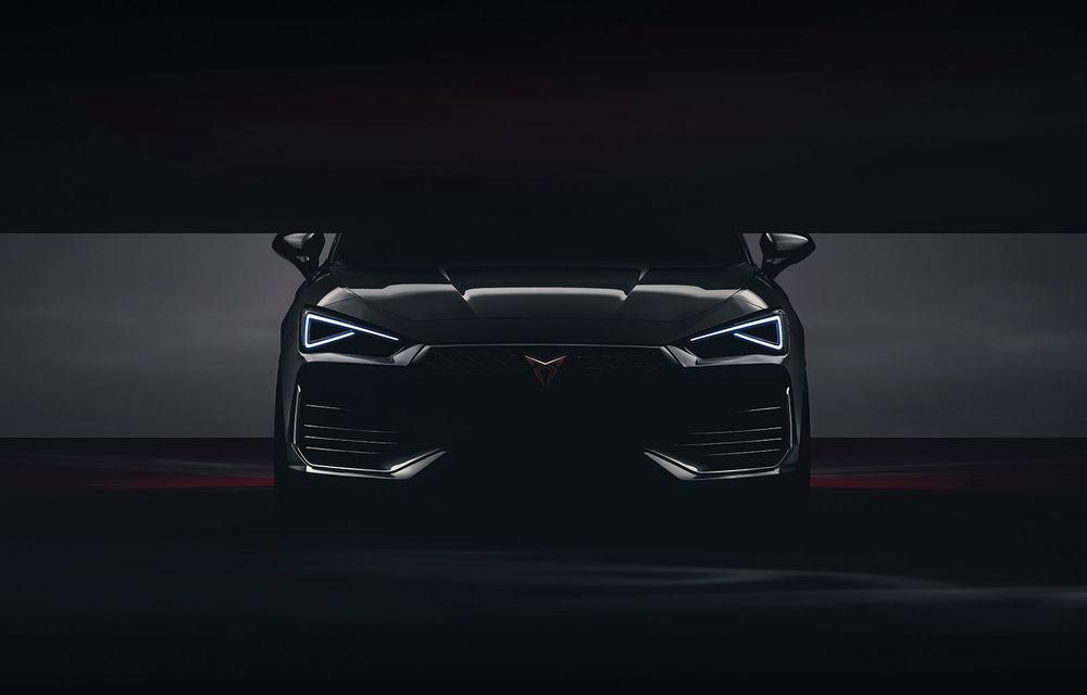 Prima imagine teaser cu viitoarea generație Cupra Leon: hot hatch-ul va avea versiune plug-in hybrid și va fi prezentat în 20 februarie - Poza 1