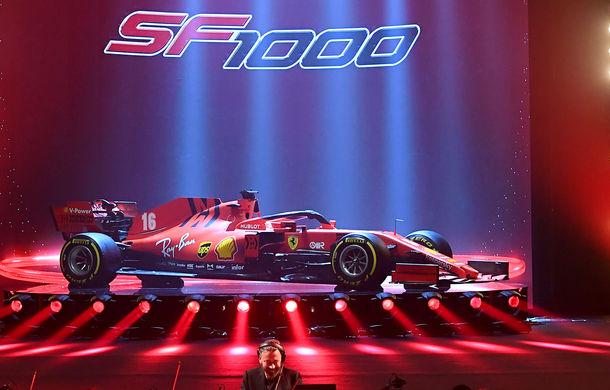 """Ferrari a prezentat noul monopost de Formula 1 pentru sezonul 2020: """"Vettel rămâne prima opțiune pentru 2021, Hamilton nu este o prioritate"""" - Poza 4"""